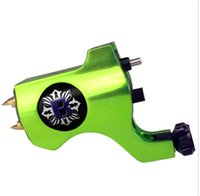 Wholesale Colors Bishop Style Rotary Tattoo Machine Gun For Tattoo Needle Ink Cups Tips Kits