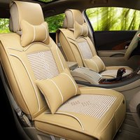 automotive upholstery leather - Leather car upholstery business surrounded by upscale car seat cover cushion pad general automotive supplies seasons