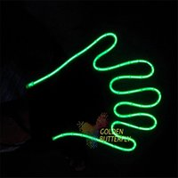 big boys neon - 12V EL Wire Gloves Cheap Customized EL Neon Gloves for Boys and Girls Spandex Cotton Material Smooth and Flash Modes Top Quality