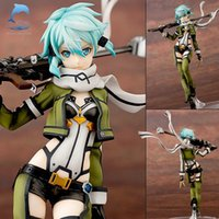 Wholesale October update hot anime Sword Art Online SAO Sinon action figure Gun Gale Online GGO characters Shino Asada toys
