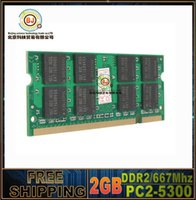 Wholesale NEW Professional brand New Sealed DDR2 Mhz PC2 GB GB Laptop RAM Memory Lifetime warranty