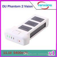Wholesale CHpost DJI Phantom Battery Replacement DJI Phantom Vision Smart Battery mAh Battery Spare A V Longer Flight Time ZY DJI