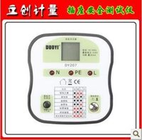 Wholesale Socket safety testing ground detector electrician wiring necessary tools DUOYI one more DY207