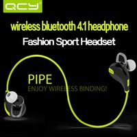 Cheap Qcy qy7 general 4.1 sports wireless bluetooth earphones 4.0 stereo mini the headset binaural