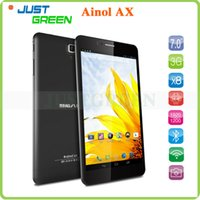 Wholesale 7 inch Ainol AX Flame Octa Core Tablet PC Android MTK6592 GHz x1200 IPS GB RAM GB ROM MP Camera HDMI GPS OTG WCDMA GSM