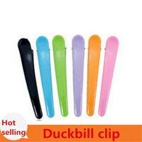 beak clips - Hair tools simple hairpin beak clip fish head candy colored picks chuck duckbill hair clip character clamps