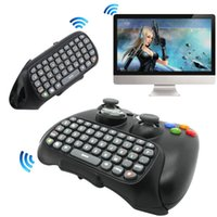 xbo 360 - Bluetooth Mini Wireless Controller Keyboard Keypad PS4 Text Messenger Pad ChatPad For X BOX Xbo