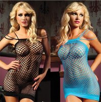 Cheap Sexy Lingerie Woman Intimate Fishnet Bodystocking Fantasias Dress Erotic Stripper One Piece