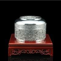 Wholesale May rhyme jewelry box tin box tin handmade crafts collection and processing of high grade tin crafts BC344 shipping