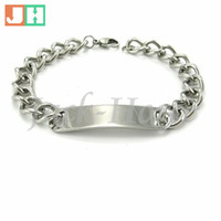 Wholesale Stainless Steel Cowboy Bracelet - Wholesale High quality fashion design 316L stainless steel cowboy style bracelet jewelry for men free shipping