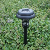 anti mosquito light - Solar Powered LED UV Lawn Garden Yard Outdoor Anti Insect Mosquito Pest Zapper Bug Killer Trapping Lamp Lantern Light