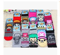 animal laws - New Arrival Fashion Women Socks ONE PIECE Luffy Law Character Ankle Boat Socks