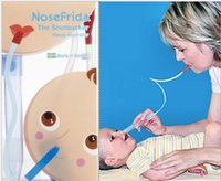 baby care products - 2015 newest Nosefrida Nasal Aspirators newborn infant Baby products Babies Boys Girls Cleaning Nose Cleaser Health Care Accessory EMS D5857