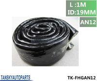 Wholesale TANSKY High Temperature Heat AN12 Vulcan Fire Sleeve Fire Braid Flame Shield Black X1M ID MM TK FHGAN12