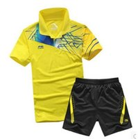 able clothes - LiNing Hot Sale able Tennis Shirt Men Or Women s Badminton Jerseys Quick Dry Breathable Clothes