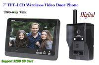 Wholesale Home Security DIY G Wireless Video Door Phone Intercom Doorbell Camera with