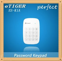 armed personal security - etiger ES K1A mhz frequency Wireless Keypad arm disarm or activate the home mode for home security alarm system