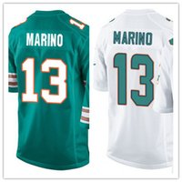 football jerseys - Factory Outlet Men s Dan Marino Jerseys Elite Green White Stitched Name And Number