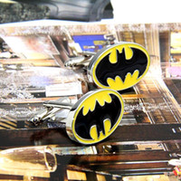 cufflink - High Quality Batman Cufflinks Men s French Cufflinks wedding cuff links men s shirt cufflink W241