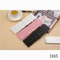 Wholesale Wireless Keyboards for IPad Tablet Outdoor Use Folding Bluetooth Keyboard Five Color Choice Aluminum Alloy Computer Keyboards