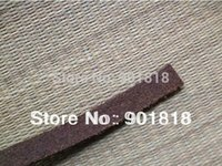 Wholesale meters mm width genuine leather rope bracelet flat leather cord accessories F660