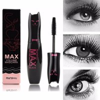 Wholesale New Women Max Volume Mascara Black Waterproof Curling Thick Lengthening Eyelashes Makeup Products Lady Make Up Cosmetics