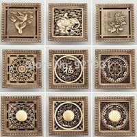 antique register covers - And Retail Antique Brass CM Decorative Floor Waste Drainer inch Floor Register Drain Cover pc