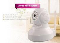 Wholesale New Arrival Wireless Megapixel IP Camera WiFi Cloud Platform HDM1 with by DHL freeshipping