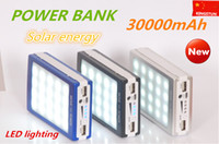 battery power solar - mAh Solar Battery LED Panel external Charger Dual mah solar Charging Ports colors choose for Laptop