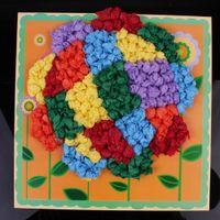 Wholesale Lin Fang g Children pickup crumpled paper handmade DIY painting children gift handmade materials Kindergarten