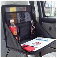 auto laptop table - Hot sale brand new Car Laptop Holder Tray Bag Mount Back Seat Auto Table Food Work Desk Organizer