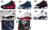 Cheap Free Shipping New Model High Quality Air Retro 13 Oreo Barons Rocket 3M Men's Basketball Sport Footwear Sneaker Trainers Shoes