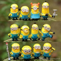 Wholesale Toy set Set Despicable Me Minion in Action Figures Minions Toys Doll Retail A3