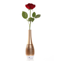 aluminum flower vases - I6 Wireless Bluetooth Flower Vase Speaker Stereo Music Soundbox Creative Portable with LED Light Handsfree for iPhone iPad Samsung