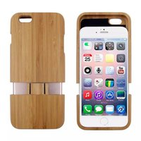 Wholesale New Genuine Real Natural Bamboo Wood Wooden Combo Case Wooden Key Hard Case Cover For iPhone
