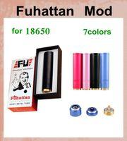 Wholesale e cig mechanical Fuhattan Mod watt box mod VS ecig mod mod battery fit atomizer exgo w3 ecigator god180 DHL FREE TZ167