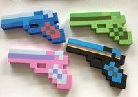 Рождественский подарок EVA пены бриллианты поддельные пистолет огнестрельное оружие огнестрельное оружие handarm кирки меч игрушка игры для мальчиков малышей детей