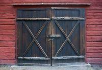 barn sales - 7X5ft Hot Sales Vinyl Photography Backdrop Old Vintage Barn Doors Newborns Children Photo Background Portrait Drops D