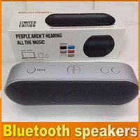 best wireless pc card - New best Pill Bluetooth Speaker Portable Wireless Stereo mini bluetooth Function Handsfree TF USB PC iPhone phone with retail box OM CB2