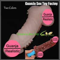 penis extension - realistic Penis Extensions penis Sleeve Silicone Extender Sleeve for mens penis enhancers Enlarge the Penis sex toy for man
