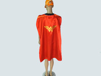Wholesale Adult Costumes Cosplay superhero cape customize logo super hero cm Double layer Adult cape styles