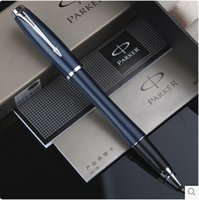 Wholesale Fashion Design Office Executive High Quality Business Pen Blue Color Metal Pen