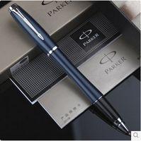 Wholesale Fashion Design Office Executive High Quality Business Pen Blue Color Metal Pen