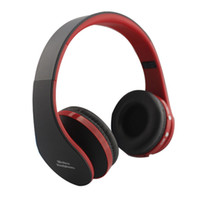 Wholesale New Bluetooth NX Headphone Foldable High Surround Sound Wireless Stereo Headset For Phone Laptop Tablets PC with Mic Bass HD Bluetooth