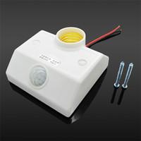 Wholesale Infrared Motion Sensor Automatic Light Lamp Bulb Holder Stand Switch Ir Sensor Bulb Holder Switch