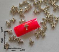 best pop art - 10pcs Best Selling Newest Alloy Cross DIY Acrylic Nail Jewelry Nails Art Decorations pop