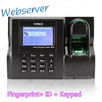 Wholesale Web Time Attendance U560 Real Time Software Web IE Server Browse Records Finger Password