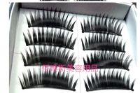 Wholesale box pairs box Naturalfalse artificial eyelashes Handmade deep black eye makeup necessary False eyelash