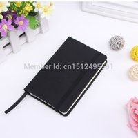 Wholesale New fashion PU imitate leather notebook business notebook supplies for diary use or gifts