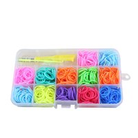 Wholesale loom rubber bands kit Set bands pc loom s clips for years child